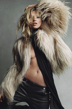 John Galliano in Vogue shoots and covers (Vogue.com UK) #winterwarm