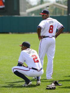 The Upton Brothers, Atlanta Braves