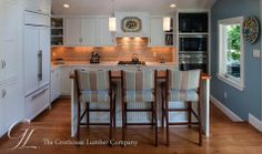 Featured project of the week, Grothouse Teak Wood Countertop designed by TRK Design Company, LLC. https://www.glumber.com/