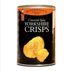 Potato Chips with Worcester Sauce 100g. Yorkshire