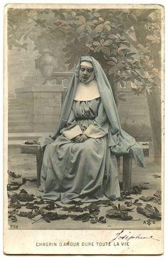 4/24/13 vintage nun