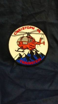 ★ ヘリコプター ワッペン CHRISTOPH 14 ★_画像1