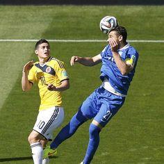Colômbia 3 x 0 Grécia