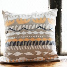 SALE 30% OFF Marfa Pillow Cover 16 x 16
