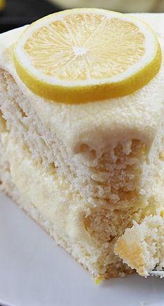 One Bowl Lemon Cake - Creme De La Crumb
