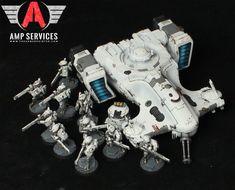 Tau Strike Squad by jstncloud.deviantart.com on @DeviantArt