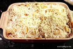 101 Cooking For Two - Everyday Recipes for Two: Weeknight Baked Chicken Parmesan