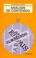 El análisis de contenido / Laurence Bardin ; traducción, César Suárez