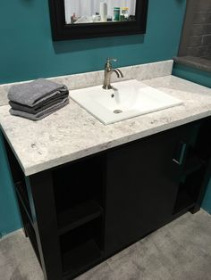 Cultured Marble Vanity Top With Bluntnose Edge Drop In Sink Provided By D Vontz