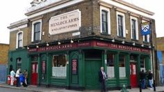My new favourite pub in London. A no nonsense old fashioned pub near Old Street.