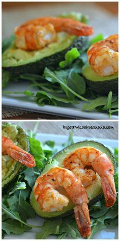 Lime Shrimp Avocado Cups