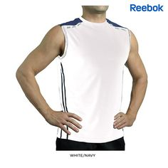 Reebok Reflective Performance Muscle Shirt - Assorted Colors & Extended Sizes at 67% Savings off Retail!