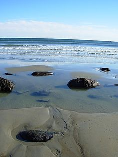 Wells Beach, Maine by MorgAnderson, via Flickr-my old vacation 'haunt'..