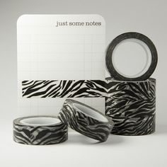 washi tape | zebra