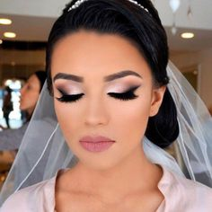 Bridal makeup is one of the most important things for every bride. Of course, it is your big day and you want to look perfect. #makeup #makeuplover #makeupjunkie #weddingmakeup