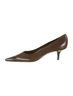 Sergio Rossi Pumps.. brown, luv these..