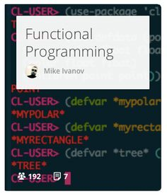 A gentle introduction into modern Functional Programming.