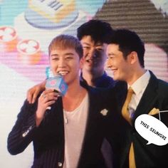 160602 Seungri at Girls Fighting Press Conference in China