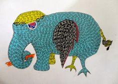 Gond and Bhil Tribal Art