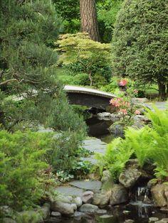 Japanese style garden in Finland, June 14th, 2017