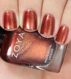 Zoya Autumn | Fall 2014 Ignite Collection | Peachy Polish