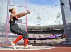 Olympic Hammer Throw | in the Women's Hammer Throw Qualification at the London 2012 Olympic ...