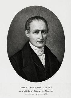 ⌛️ 7 mars 1765 : naissance de Joseph Nicéphore Niépce, inventeur de la photographie.