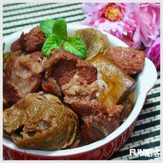 Fun酷客: 養生紅麴滷肉