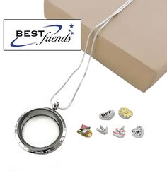 NEW Silver Fruit Cherry Floating Charm for Living Memory Locket 1 5 or 10 Charms