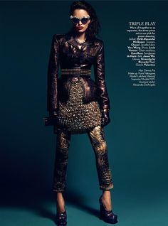 Kara Ross Chain Necklace in Vogue India.