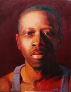 The Gwen and Rodney Project    Oil on Canvas  5ft x 4ft  2012     by Tylonn J. Sawyer