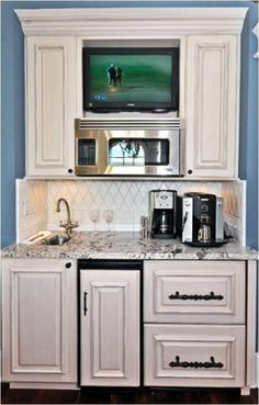 Astounding Inspiring TV Ideas for Kitchen