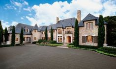 Classic European-styled estate.