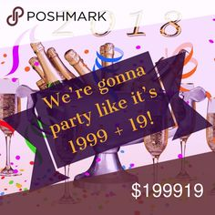 💜 My First Posh Party!!! I'm so excited to be co-hosting my first Posh Party!   December 27th @ 4pm PST  Theme & co-hosts — TBA  Interested in a Host Pick? Follow these guidelines: - Your closet must be posh-compliant - Share and like this listing - Share NO MORE THAN 3 of your listings to my dressing room for consideration  - Let me know if you have not had a HP or have less than 10 in the comments below   Now, let's party like it's 1999 + 19! 💜🥂🎊 🎉 💜 Other