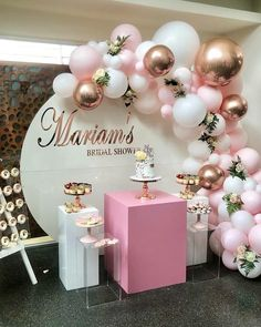 balloon arch 101 DIY Balloons Garland Arch Kit Rose Gold Pink White Balloon for Baby Shower Bridal Shower Wedding Birthday Party Decorations Shape Style: Oval Occasion: Wedding & Engageme Birthday Balloon Decorations, Girl Baby Shower Decorations, Birthday Balloons, 18th Birthday Party Ideas Decoration, 12 Year Old Birthday Party Ideas, 21st Bday Ideas, Pink Birthday, 21st Birthday, Party Themes