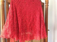 Ravelry: milosofathens' Arianrhod Pattern: Arianrhod by Sue Lazenby  shawl lace knit circular