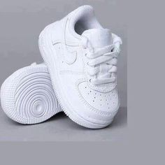 Baby Nikes, I love a pair of white sneakers