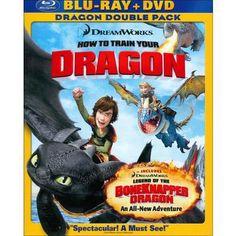 How to Train Your Dragon/Legend of the Boneknapper Dragon (2 Discs) (Blu-ray/DVD) (Widescreen)