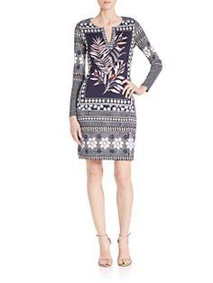Diane von Furstenberg - Reina Printed Silk Dress