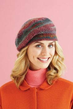 polaris hat  lion brand amazing yarn  how would it look in gray?