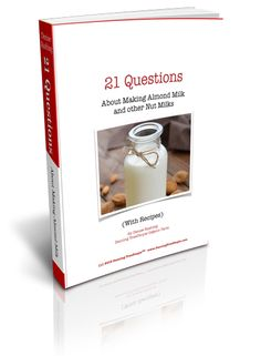 Get your free eBook and share to win a coupon code for 77% off a Nut Milk Bag.