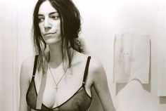 Patti Smith - A photo from Judy Linn book.