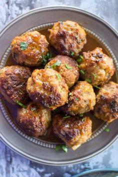 Slow Cooker Honey Glazed Pork Meatballs