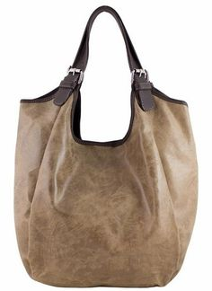 d5fa11d417f2 Etasico Mona Distressed Leather Handbag Taupe Hobo  199 SALE + FREE  SHIPPING  169  etasicomona New