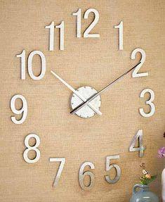 Deconstructed Wall Clocks
