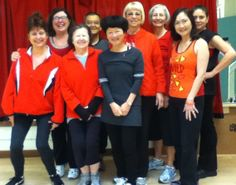 Zumba Pleasant Hill wears Red for Heart in support of Go Red for Women, American Heart Association.  Raffle party Tues., 3/12/13...see website for details.
