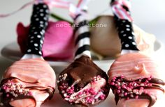 sweet chocolate coated spoons by nectar and stone