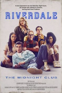 Riverdale - The Midnight Club Poster Riverdale Series, Riverdale Netflix, Riverdale Poster, Riverdale Cw, Riverdale Archie, Riverdale Aesthetic, Riverdale Funny, Riverdale Tumblr, Riverdale Comics