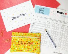 Handmade positive goal setting kit - Electrostitch, Dream Plan for Best New Product Award