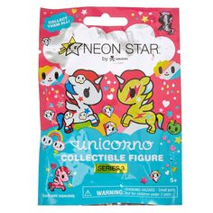"""Neon Star Unicorno Collectible Figure Series 2 